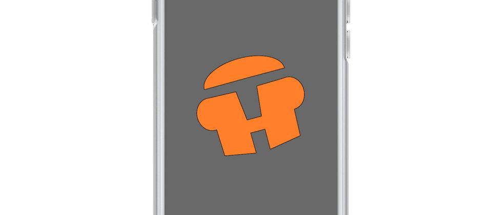 """Head Tilt Logo"" - Liquid Glitter Phone Case"