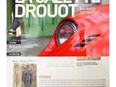 PUBLICATION - La Gazette Drouot