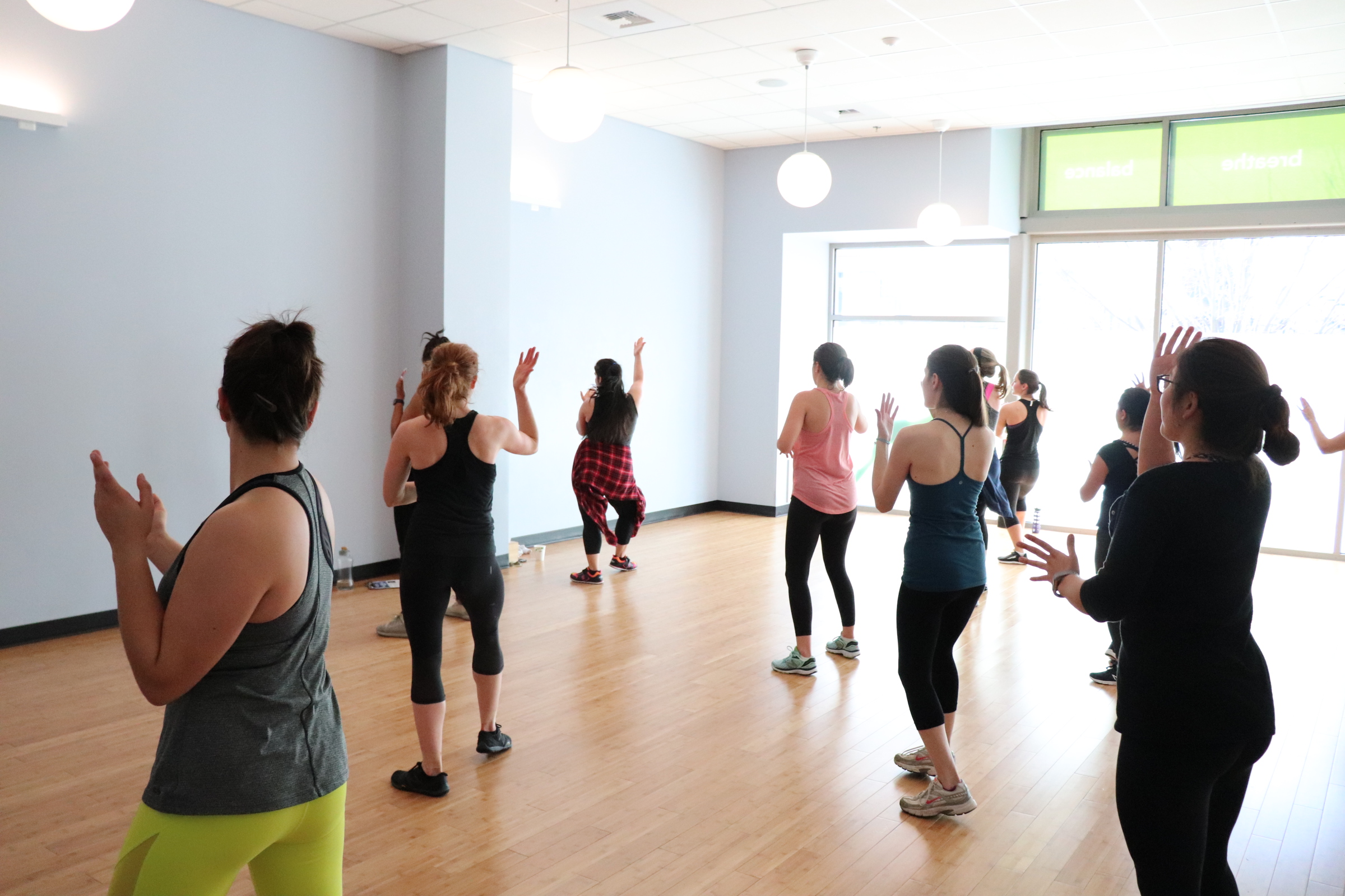 Class at YogaWorks on 14th! Thanks to @ilovegueli for photos