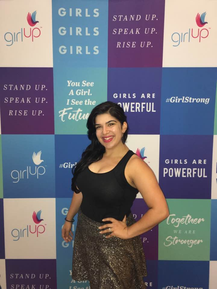Sara, Founder/Dancer, coaching at Girl Up Summit!