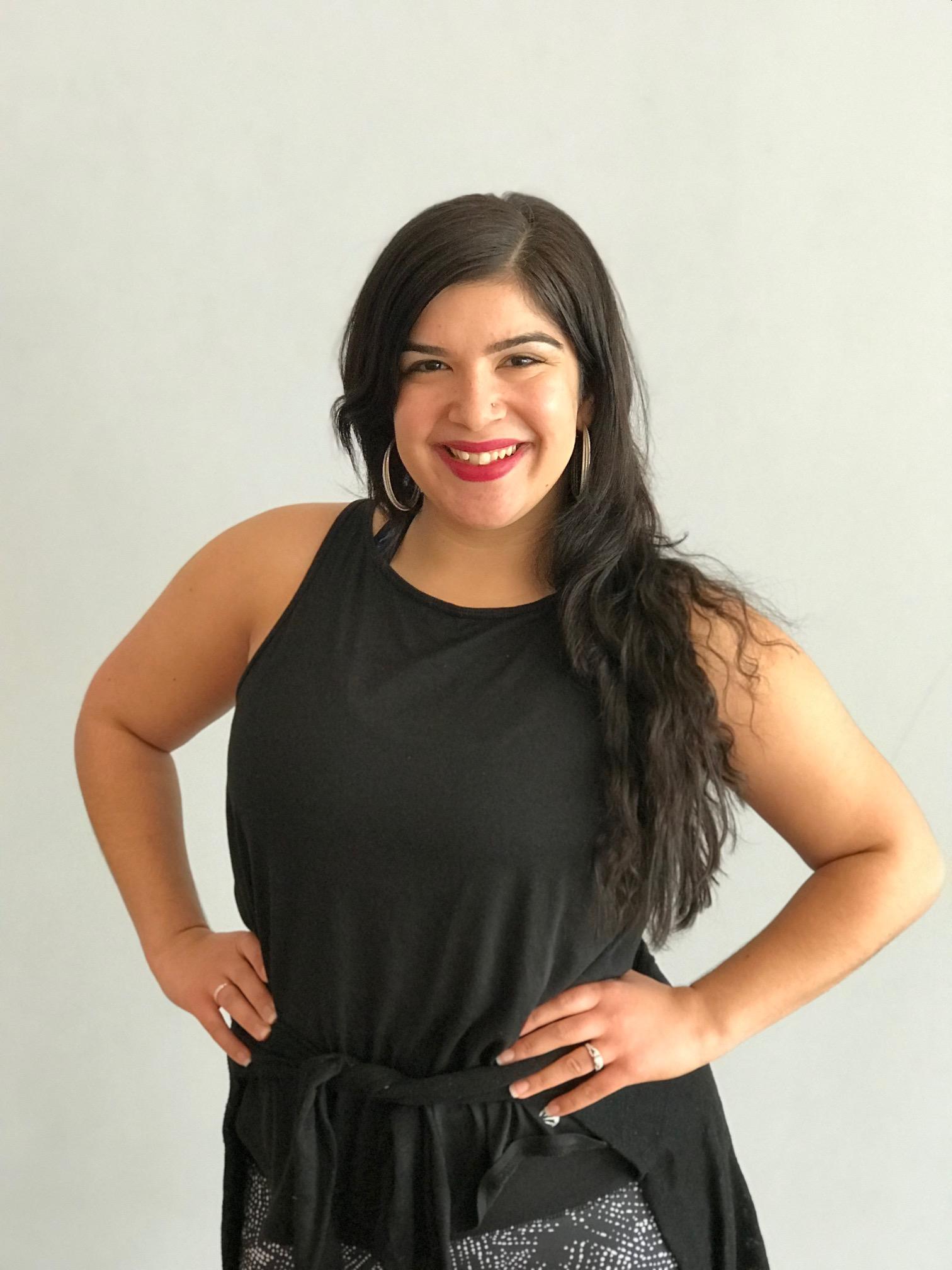 Sara, creator & lead instructor of BoldBeats Fitness!