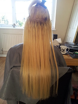 Essex hair extensions gallery hair extensions in essex nano bead hair extensions during fit pmusecretfo Images