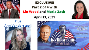 Exclusive Interview with Maria Strollo Zack, Part 2 of 4 – 04.13.21