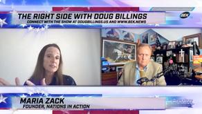 Doug Billings' exclusive interview with Maria Strollo Zack – 05.26.21