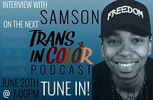 Interview with Samson on Trans In Color