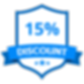 10% Discount Badge
