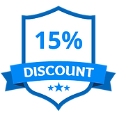 10% Discount Badge
