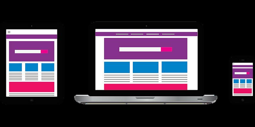 Ste internet responsive, site internet E-commerce responsive, developpeur web