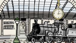 "1920's Train Station"""