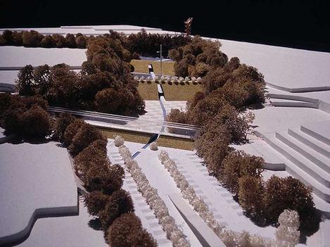 ダムのある美術庭園計画