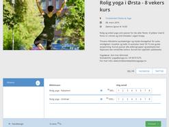 Du kan nå kjøpe yogakurs hos oss på Tikkio!