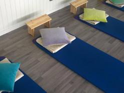Rolig pilates og yoga på fredag