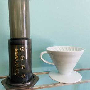 コーヒーの抽出器具について