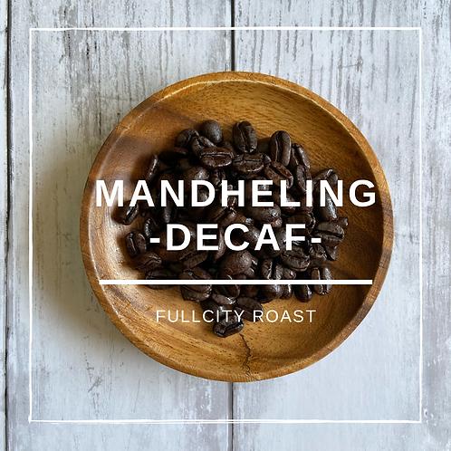 自家焙煎豆     マンデリン(デカフェ)