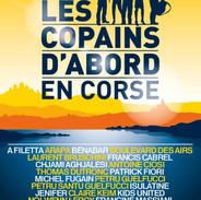 Affiche concert Les copains d'abord en Corse