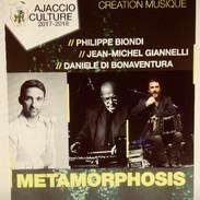 Invitation en guest, au concert Metamorphosis