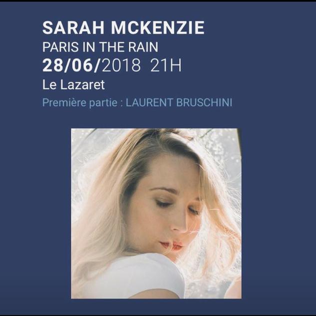 1ere partie de Sarah Mc Kenzie, Festival Jazz in Aiacciu