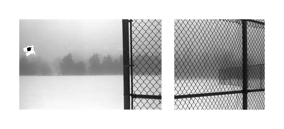 Untitled (Chain Link Fence)