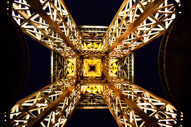 Architecture Photography - Eiffel Tower