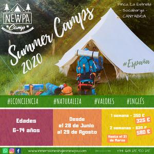 Campamentos de verano en inglés NewPa Summer Camps Cantabria
