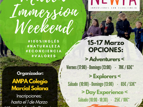 March Immersion Weekend!