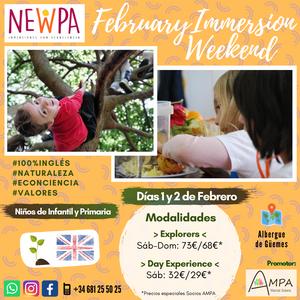 Immersion Weekend NewPa Fin de semana niños inglés