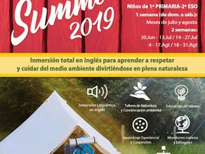 Campamentos de Verano en Inglés - Summer Camps 2019