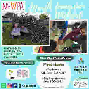 Immersion Weekend NewPa Fin de semana niños inglés naturaleza