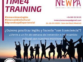 Time4training Inglés+Econciencia para adultos en Madrid