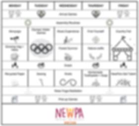 Horario Crickets Camp - NewPa inmersione