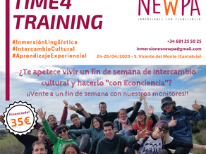 Time4training: Intercambio cultural y Econciencia