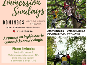 Ya vuelven: Immersion sundays 2020/21