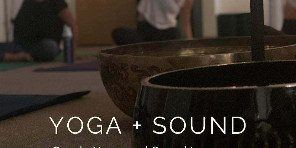Yoga + Sound: Gentle Yoga and Sound Immersion