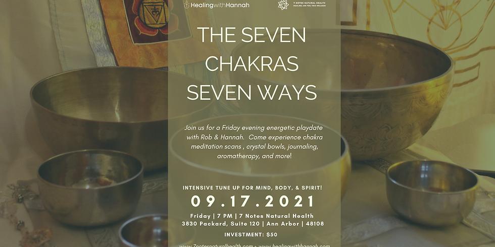 Seven Chakras Seven Ways