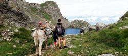 Randonnée Belledonne avec un âne