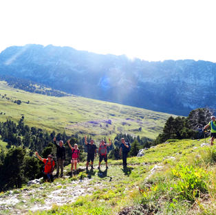 Semaine sportive en montagne
