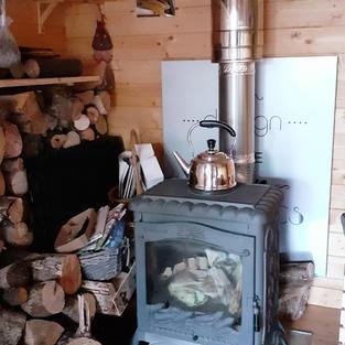 Un pôele à bois pour les belles soirées d'hiver