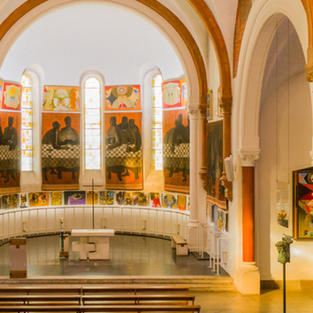 Visite guidée de l'église d'Arcabas à Saint-Hugues