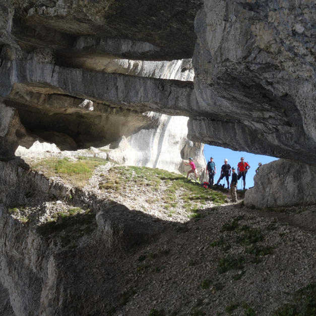Des randonnées insolites du vertige