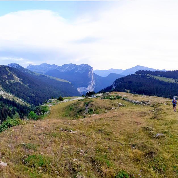Les magnifiques panoramas des hauts plateaux de Chartreuse