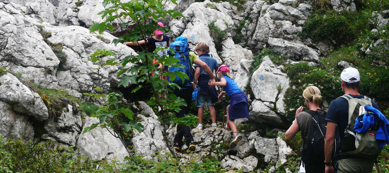 Randos enfants en Chartreuse