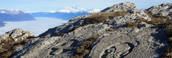 Vue Mont Blanc depuis la Chartreuse