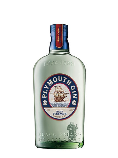 Plymouth Gin Navy Strength 57% 70 cl