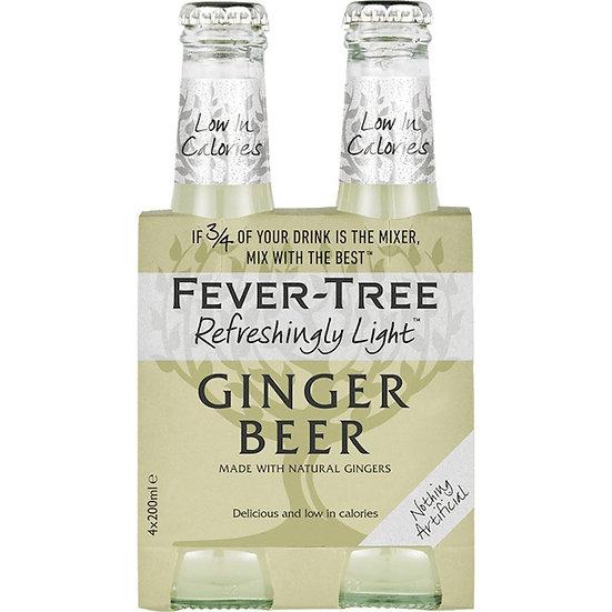 Fever-Tree Ginger Beer 4 x 20 cl