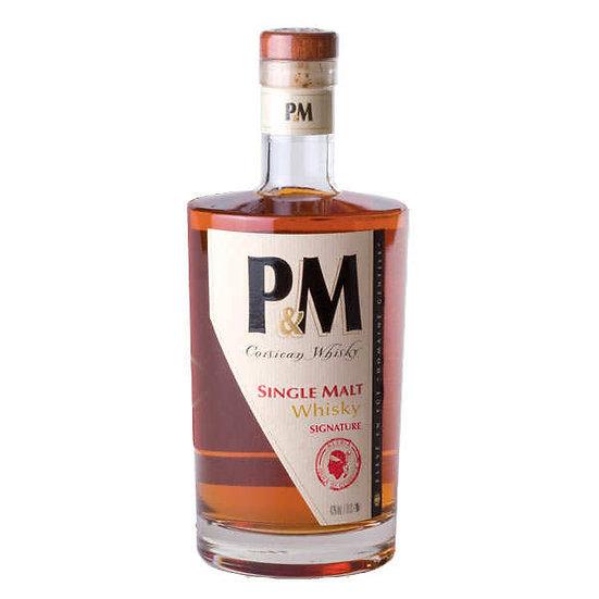 "P&M Single Malt Corse "" Signature"" 70 cl"
