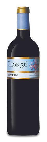 Clos 56 Pomerol 2014 75 cl