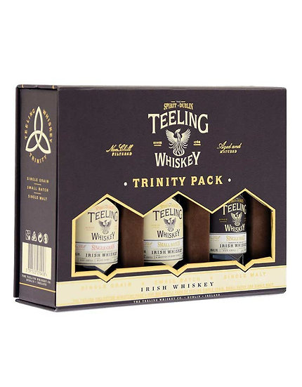 Teeling Trinity pack 3 x 5 cl