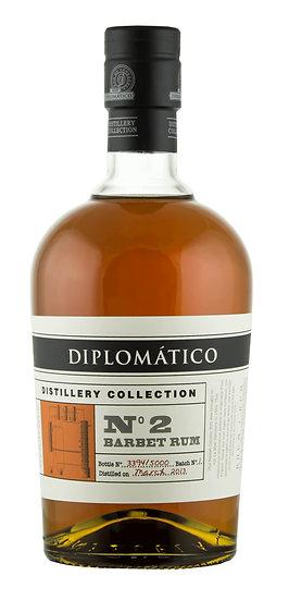 Diplomatico N°2 Barbet Column 70 cl