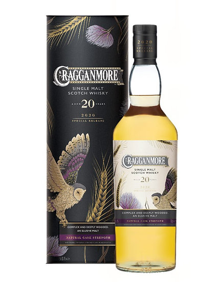 Cragganmore 20 ans Special Release 2020 70 cl