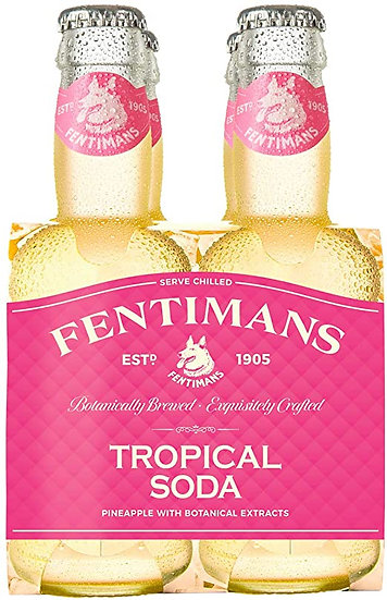 Fentimans Tropical Soda 4 x 20 cl